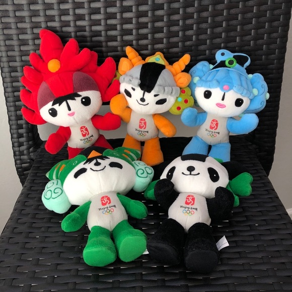 rare limited edition 2008 beijing olympics plushes